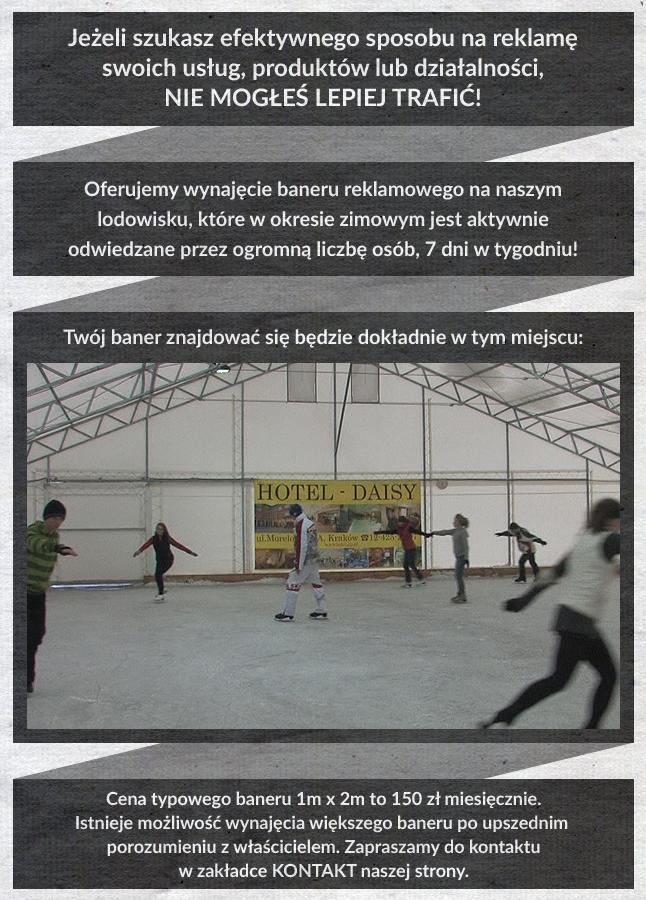 Reklama na lodowisku